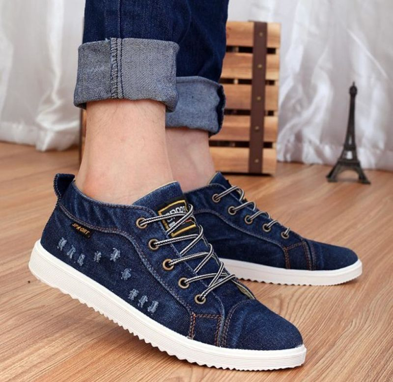 Cheap denim canvas shoes, Buy Quality casual shoes directly from China  fashion casual shoes Suppliers: 2016 New Style Cotton-made autumn shoes  denim canvas ...