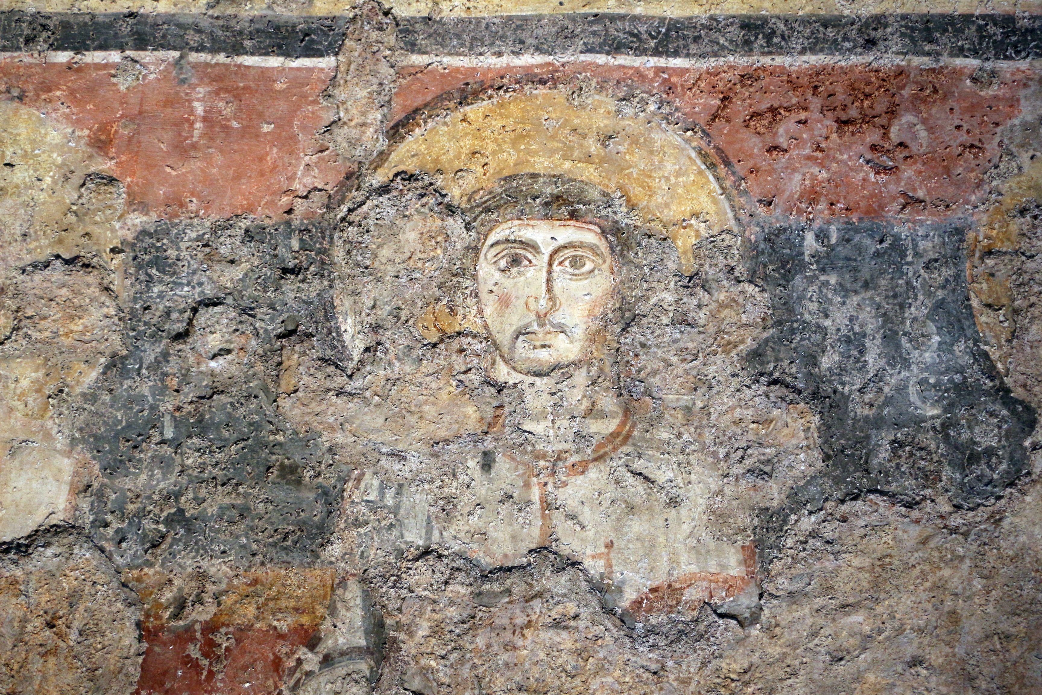 Santa Maria Antiqua, Roma. Affreschi, 757-767
