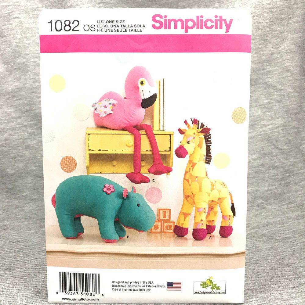Stuffed Animal Patterns Simplicity Interesting Design Ideas
