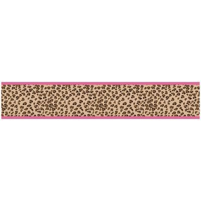 """Sweet Jojo Designs Cheetah Pink 15' x 6"""" Leopard Print"""