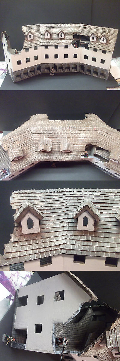 Terrain and Scenery 177640: Huge Building For 25-30Mm Wargames -> BUY IT NOW ONLY: $59 on eBay!