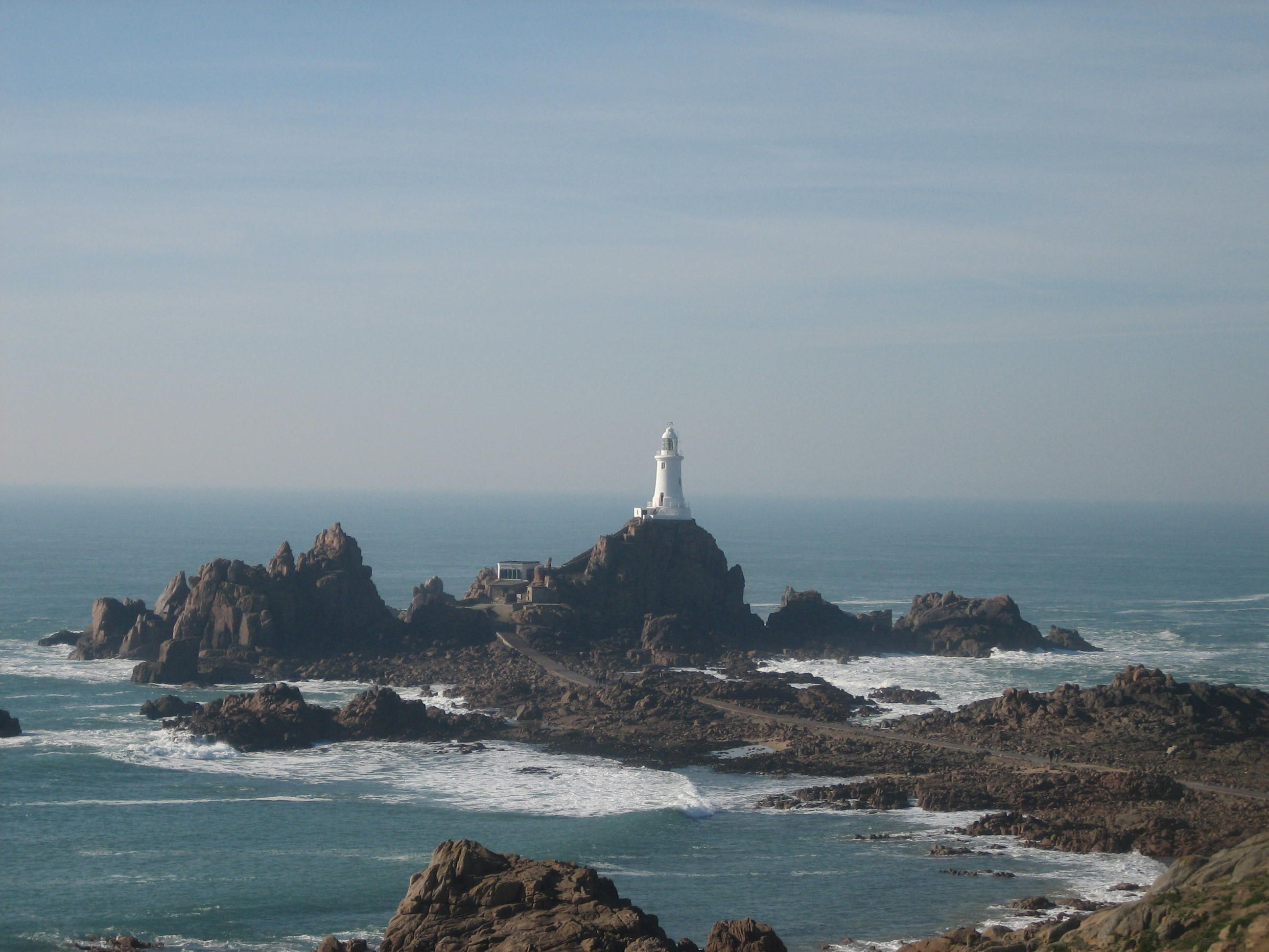 lighthouses of nj | La Corbiere is the extreme south-western point of Jersey in St ...