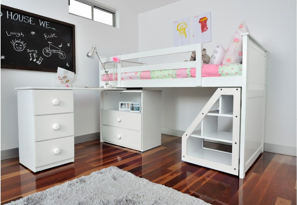 Super Cool Beds here is another cool kids bed & desk | kid's rooms | pinterest