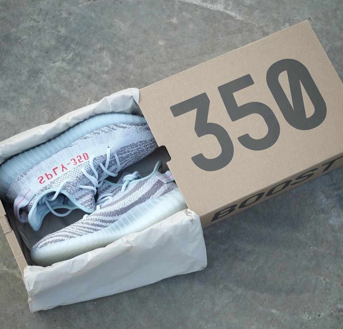 541b5eb876853 Watch out for fake Adidas Yeezy Boost 350 v2 Blue Tints