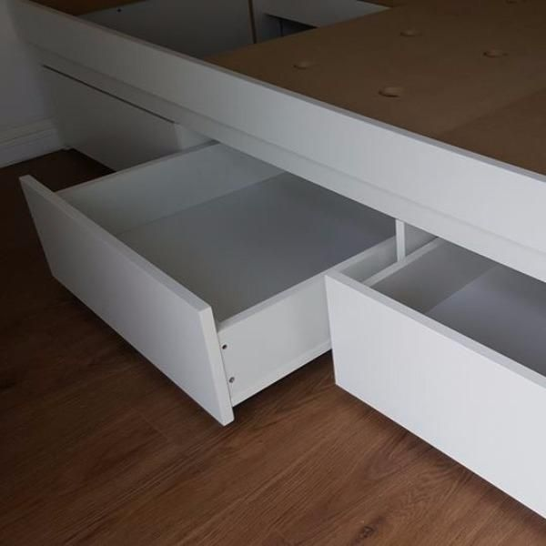 Proyecto Cama box de dos plazas, A MEDIDA en Muebles.uy MUEBLES.uy ...