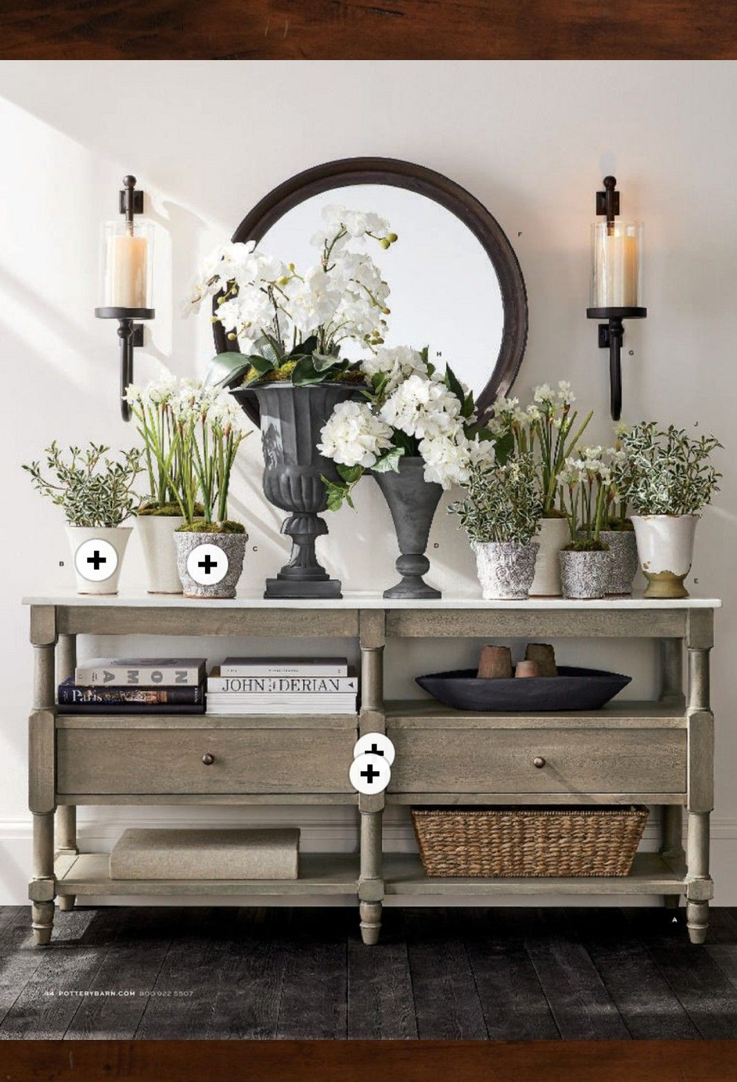 Pottery Barn entryway Decor, Home decor, Classic home decor