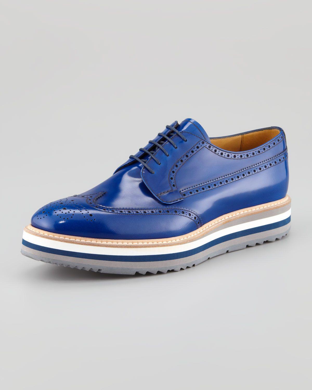 Prada - Zapatillas para hombre, color multicolor, talla 40 EU
