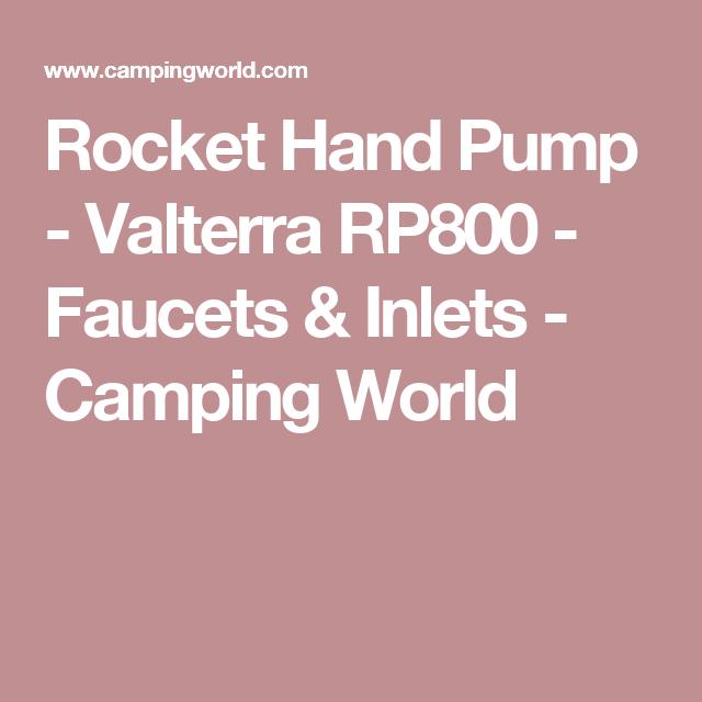 Valterra Rocket Hand Pump   Pumps