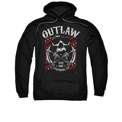Sons Of Anarchy Outlaw Black Pullover Hoodie