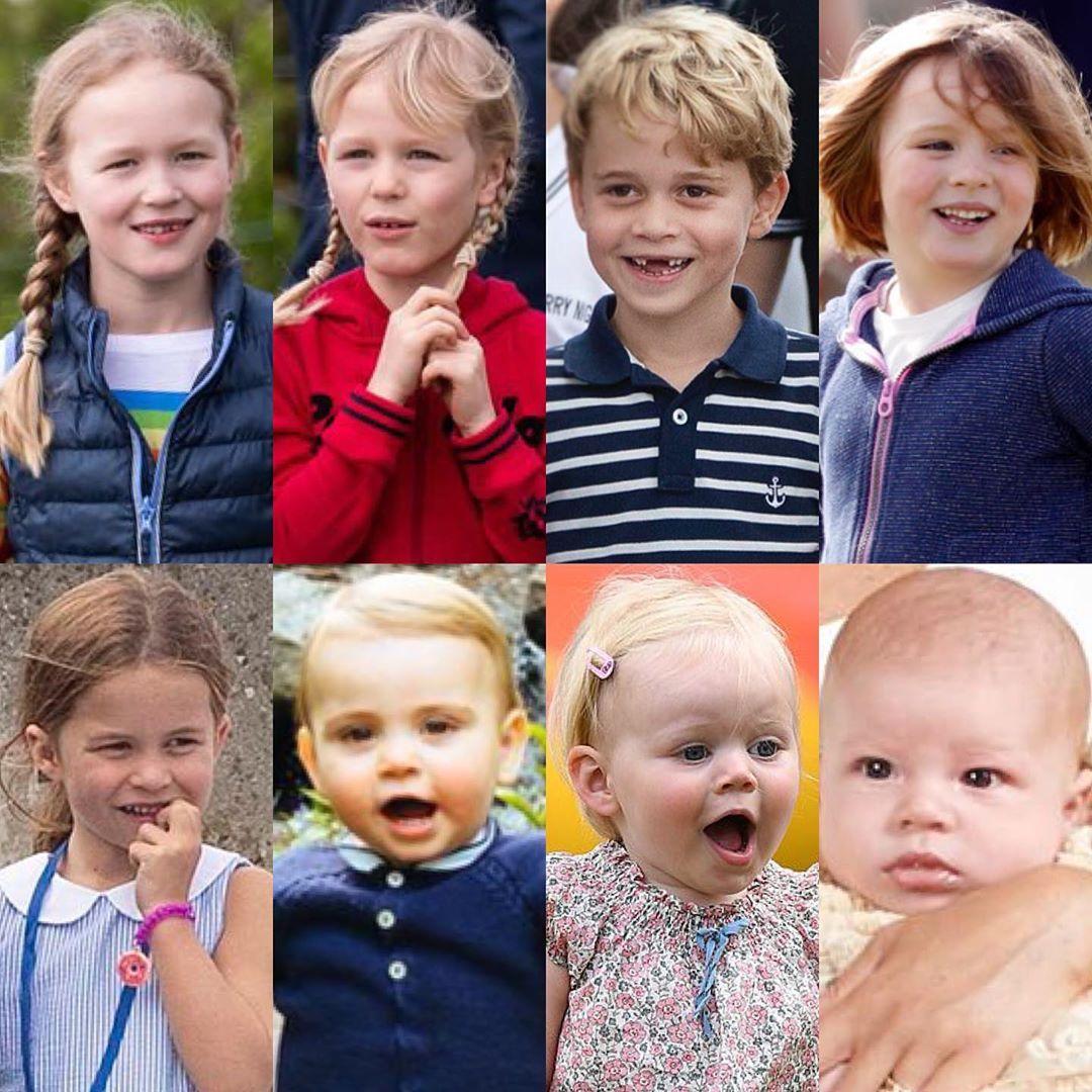 The Great Grandchildren of Queen Elizabeth and Prince