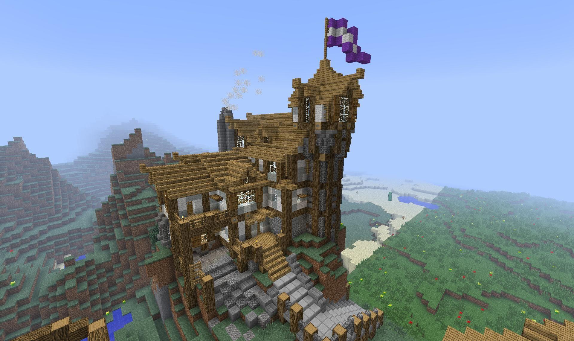 minecraft medieval library tutorial