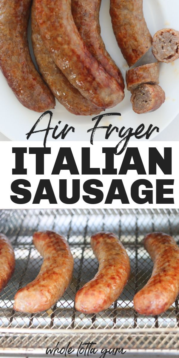 Photo of PERFECT Air Fryer Sausages