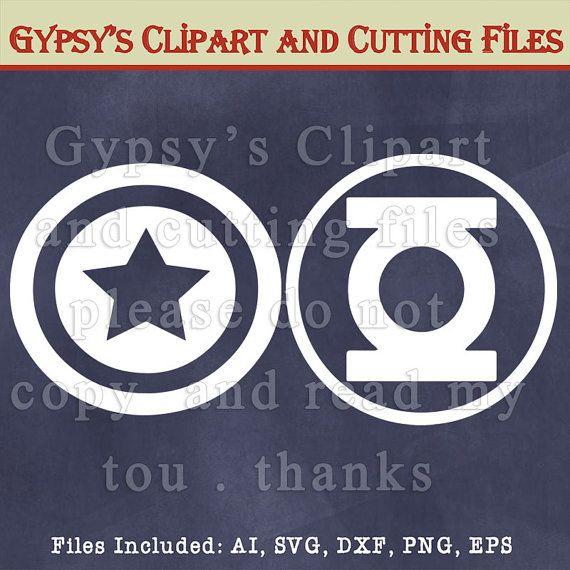 Logos Marvel Comics Superman SuperherosVinyl by GypsysClipart
