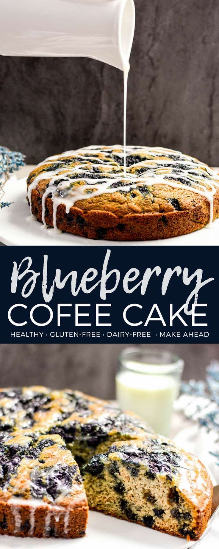 Dairy-Free Blueberry Coffee Cake Recipe Healthy