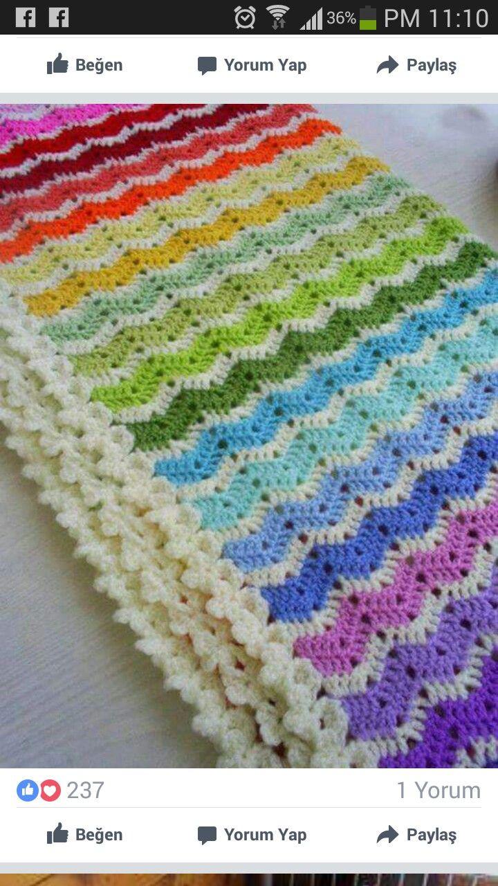 Pin by filiz yüksel on Örgü | Pinterest | Crochet, Blanket and Afghans