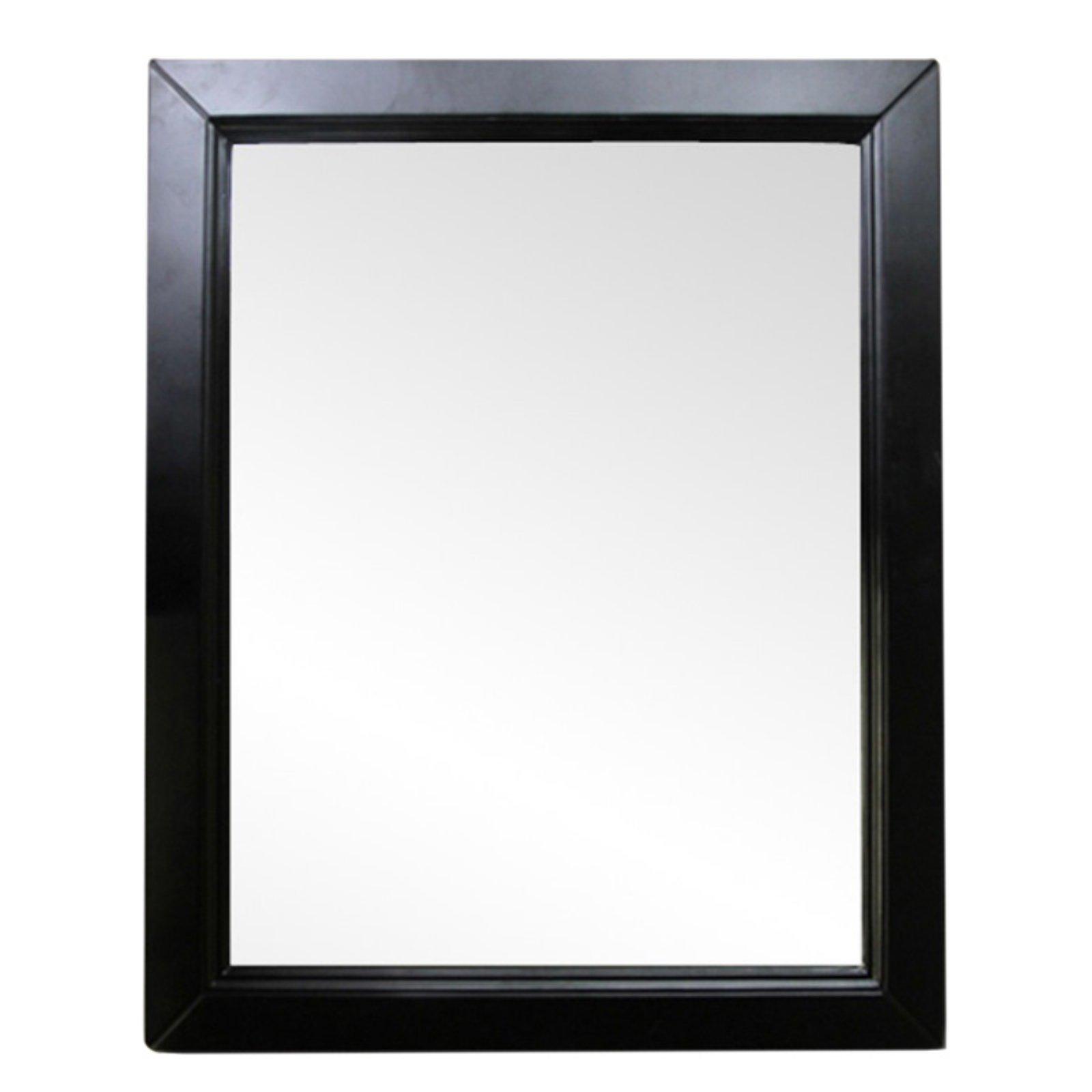 Bellaterra Home Mirror 30w X 36h In Wood Framed Mirror
