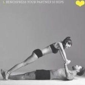 Trendy Fitness Motivation Couples Relationship Goals Partner Yoga 54 Ideas #motivation #fitness