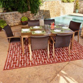 Sam's Club - Modern 7-Piece Outdoor Dining Set