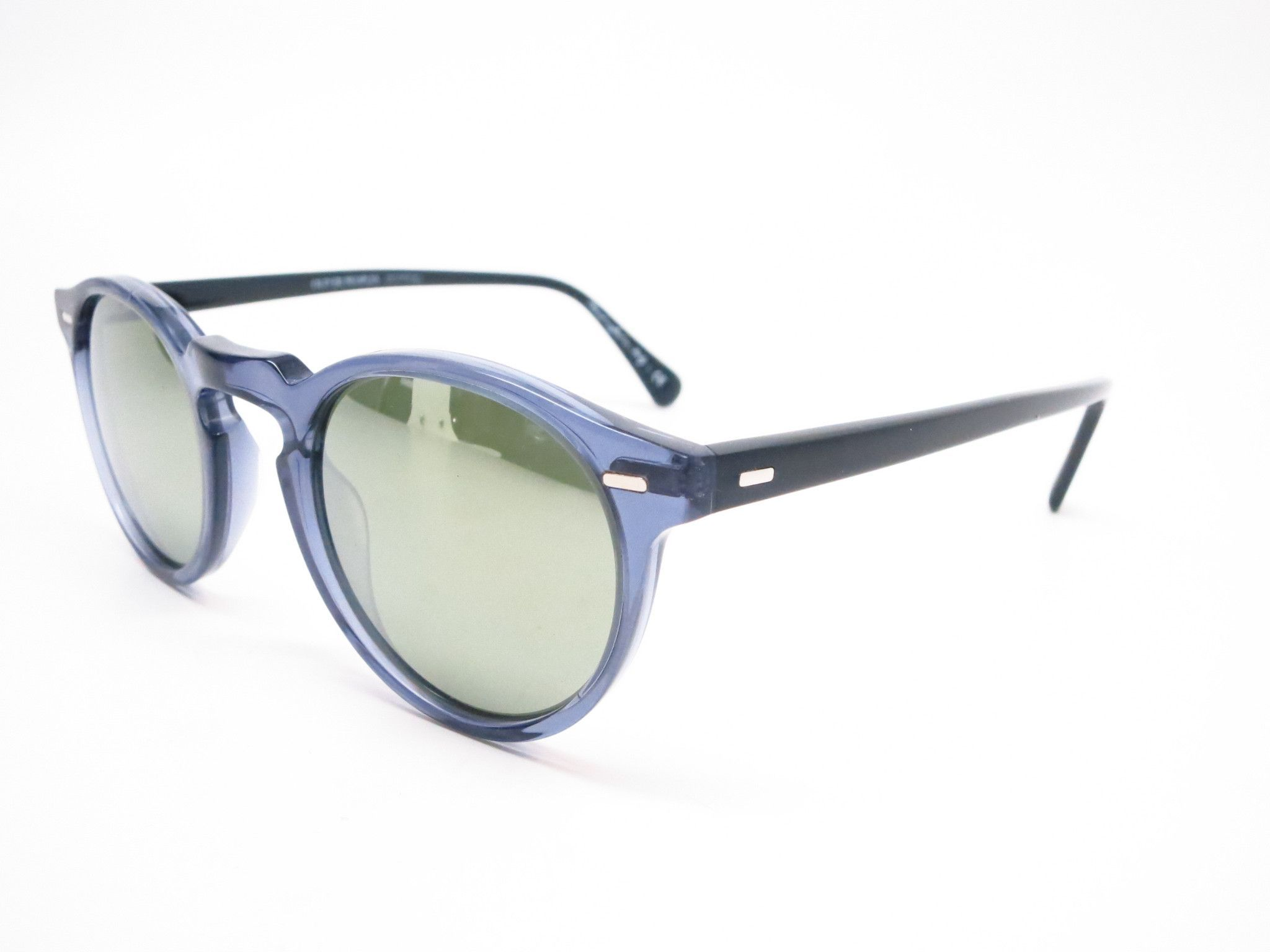 Oliver Peoples Gregory Peck Ov 5217 1563 5c Denim Blue Black Sunglasses With Images Black Sunglasses Sunglasses Oliver Peoples Sunglasses