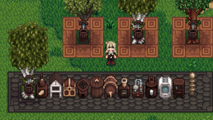 Darker wood and gold craftables at Stardew Valley Nexus - Mods and