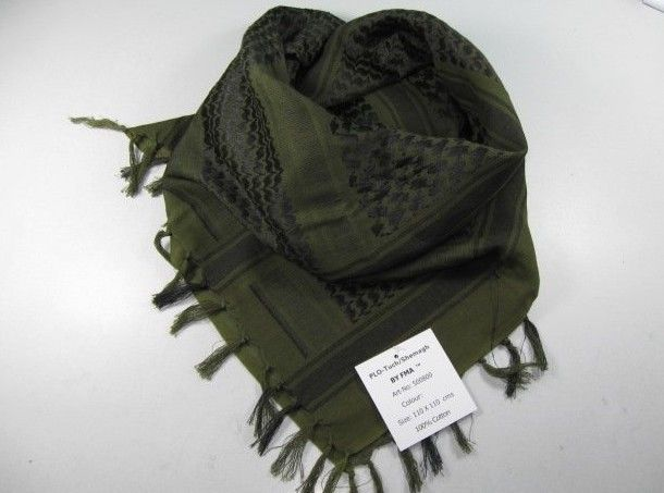 Airsoft Tactical Shemagh Arab Scrim Scarf OD | 365Airsoft