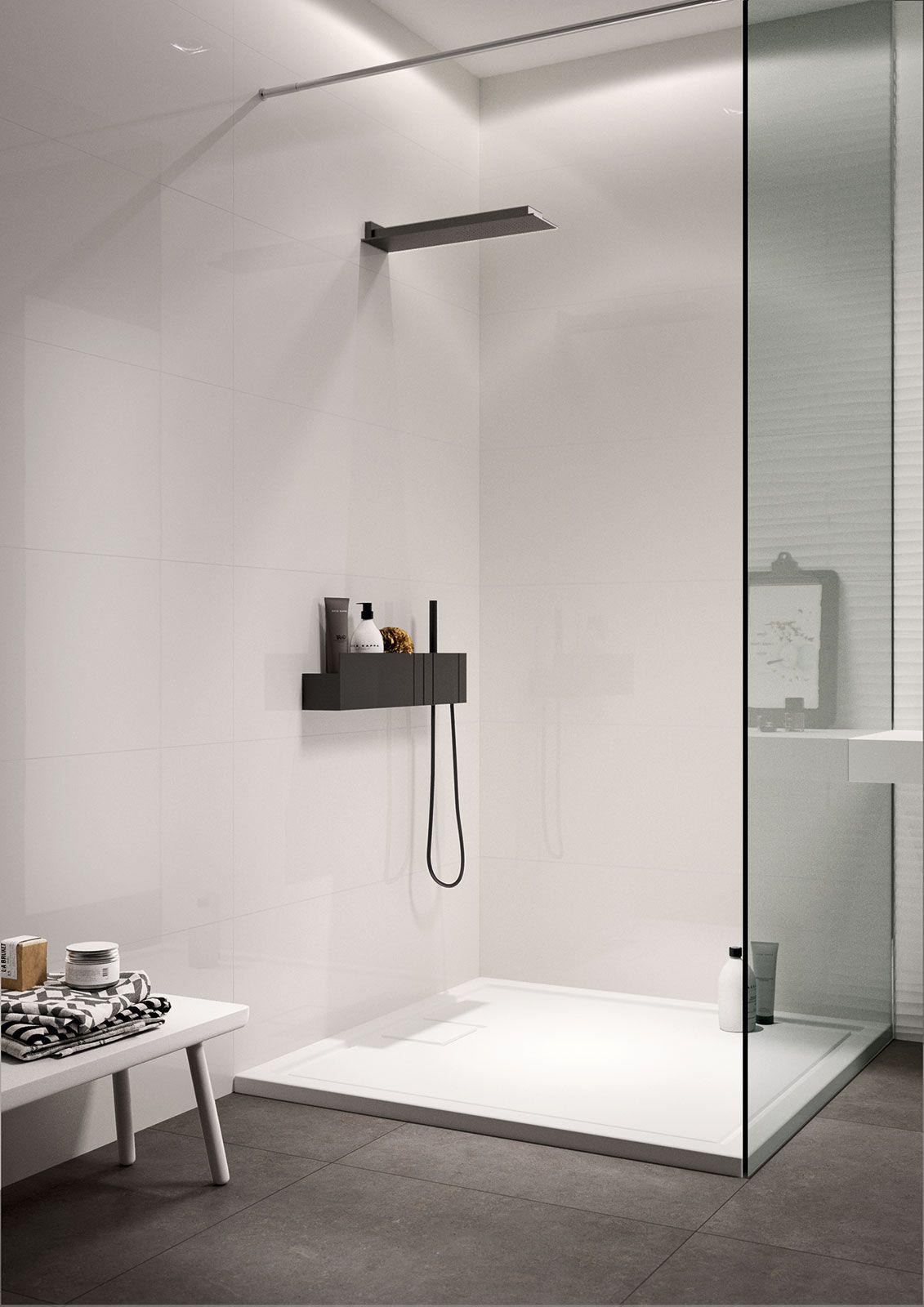 essenziale - ceramica bianca per bagni | marazzi | progettocasa ... - Bagni Moderni Marazzi