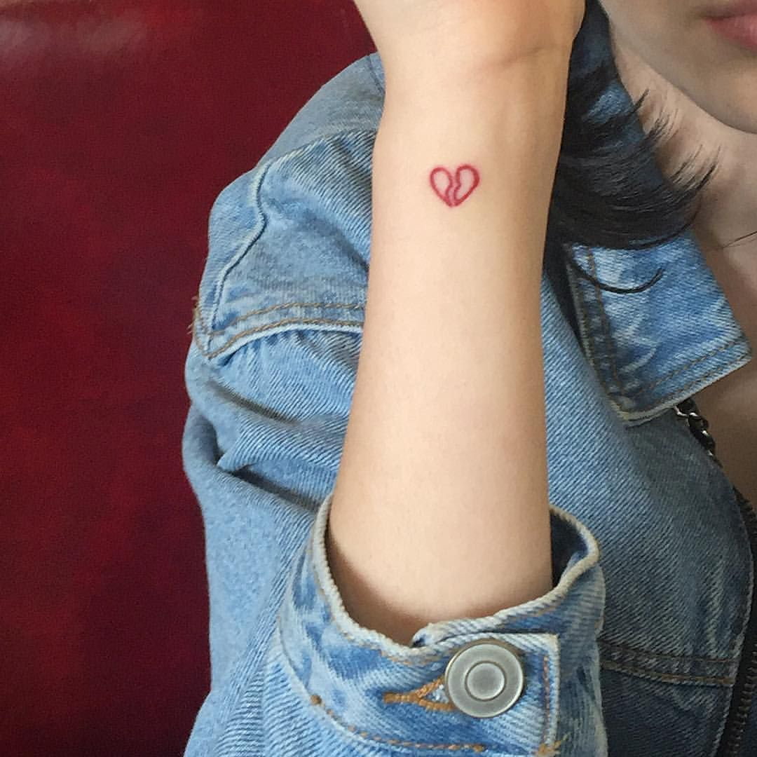 Pin by aves on permanent marker Heartbroken tattoos