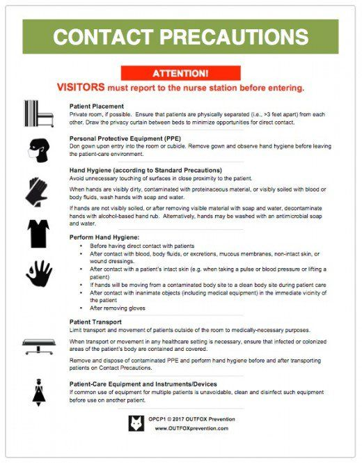 Cdc Standard Precautions Posters Infection Control Nursing