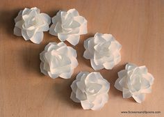 Paper Magnolias, these would be cute for a baby shower or bridal shower.