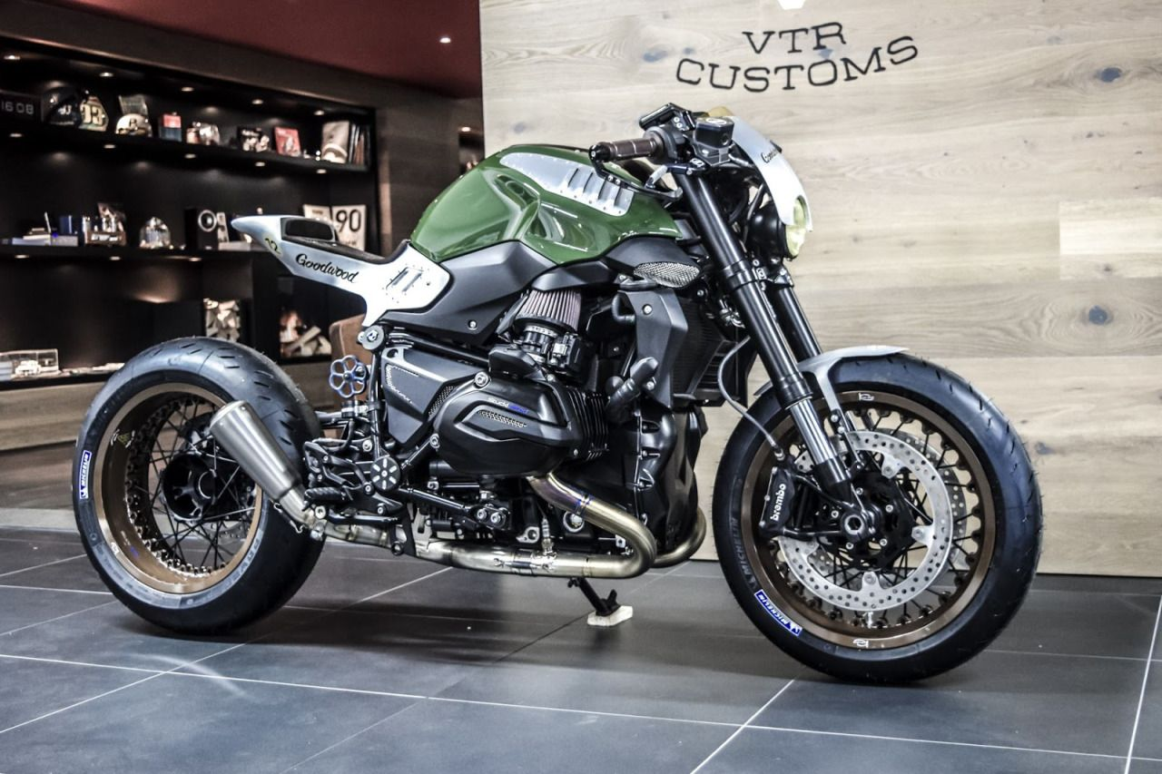 "bmw r1200 r cafe racer ""goodwood 12""vtr customs #motorcycles"