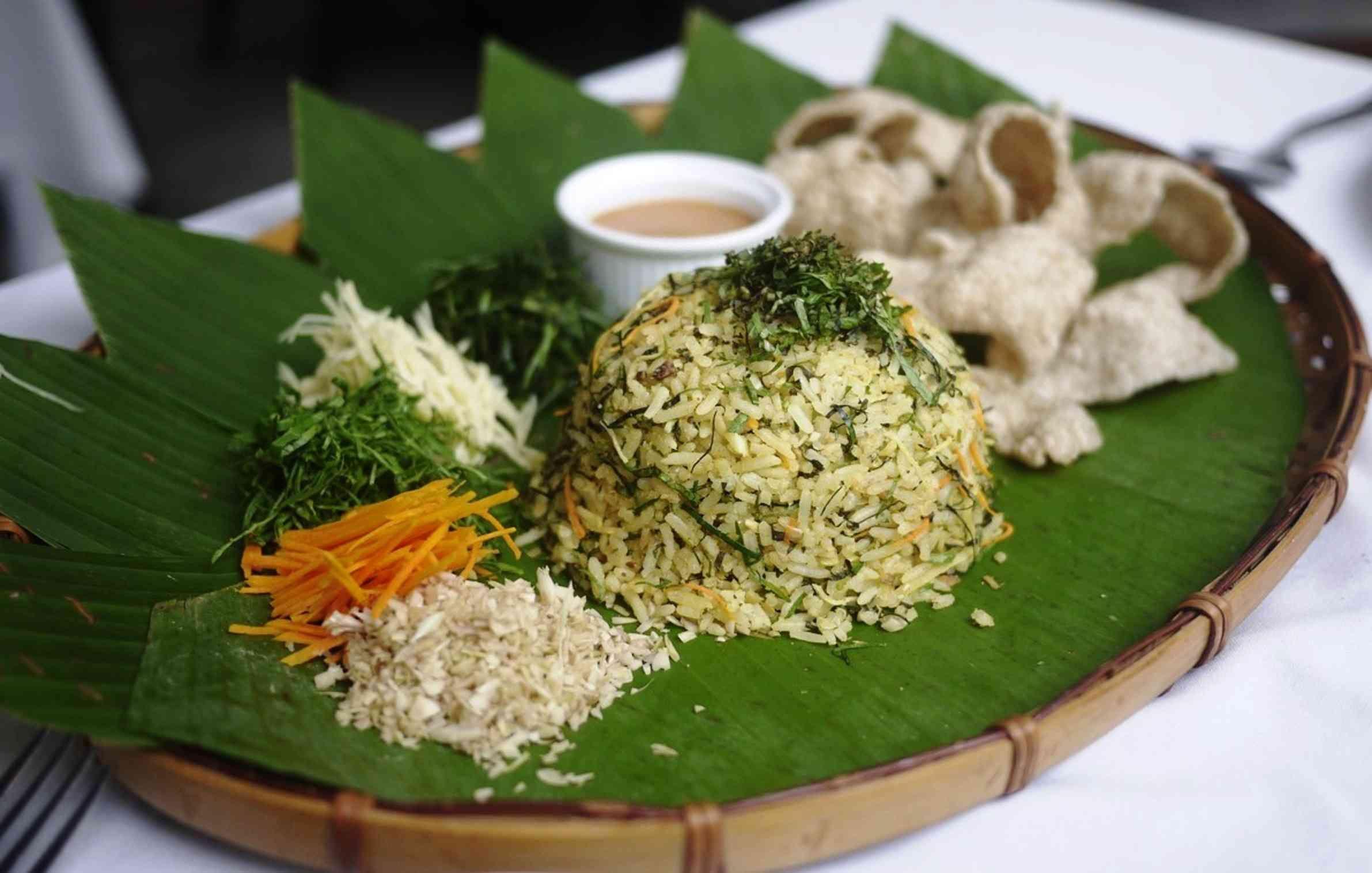 Jamu Selera Dengan Resipi Nasi Ulam Utara Paling Sedap Mudah Rasa Pale Flavors Rice