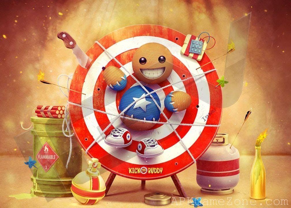 Kick The Buddy Money Mod Download APK Games, Mac pc