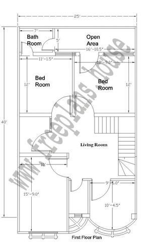 feet house plan also plans simple rh pinterest