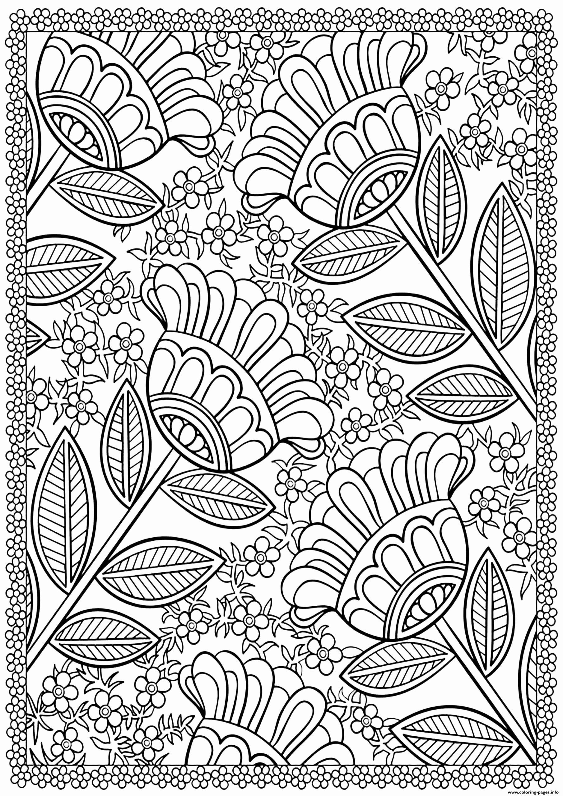 Big Coloring Pages For Adults Unique Coloring Pages Floral Coloring Pages For Ad In 2020 Printable Flower Coloring Pages Designs Coloring Books Abstract Coloring Pages