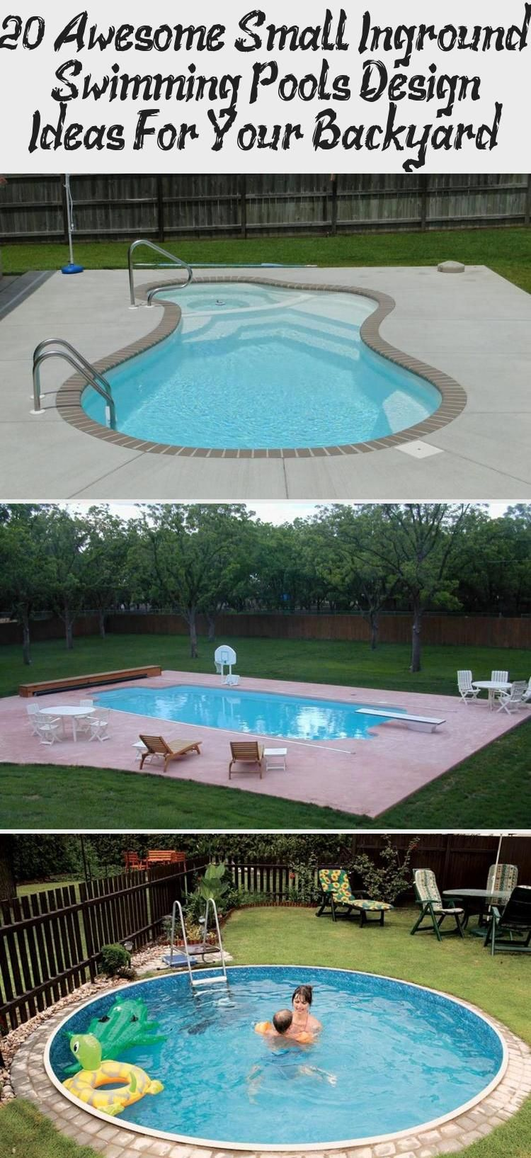 20 Awesome Small Inground Swimming Pools Design Ideas For Your
