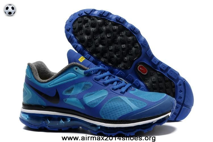 Buy Nike Air Max 2012 487990-408 Mens LAF Prism Blue Black Deep Royal Blue Maize Sale Now