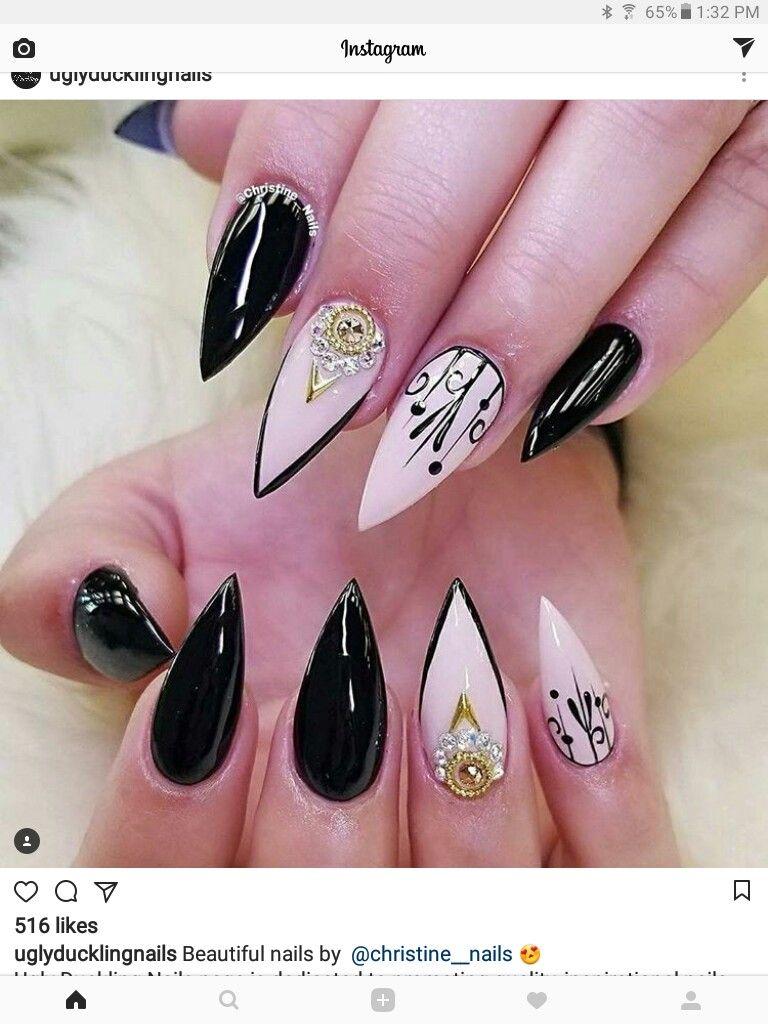 Pin by Bad2DaBone on NAIL SHAPES | Pinterest | Manicure, Nail nail ...
