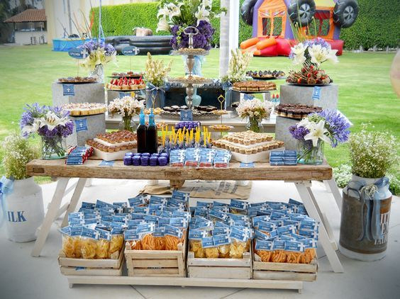 ideas para candy bar salado