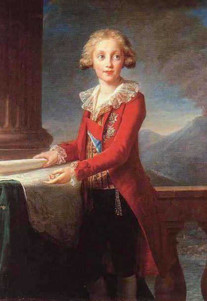 Francesco I di Borbone by Elisabeth Vigee-Le Brun