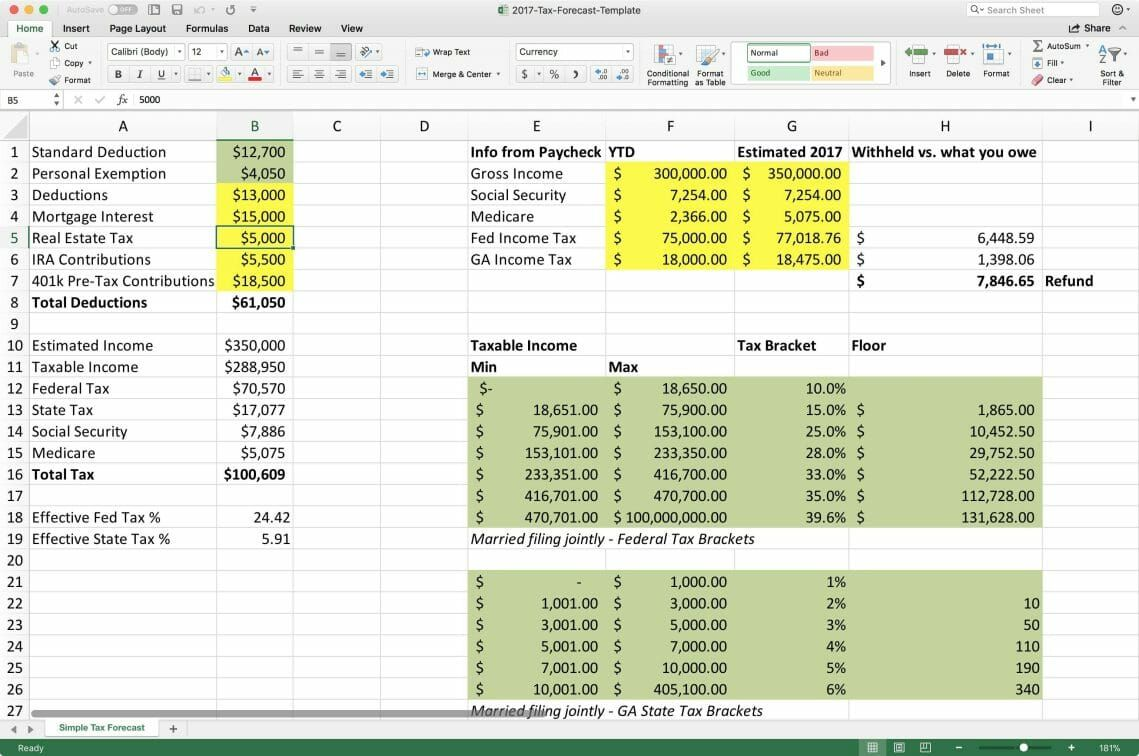 Tax Deduction Spreadsheet Excel In The Event That You Manage A Group Employee Or Busy Househo Tax Deductions Spreadsheet Deduction