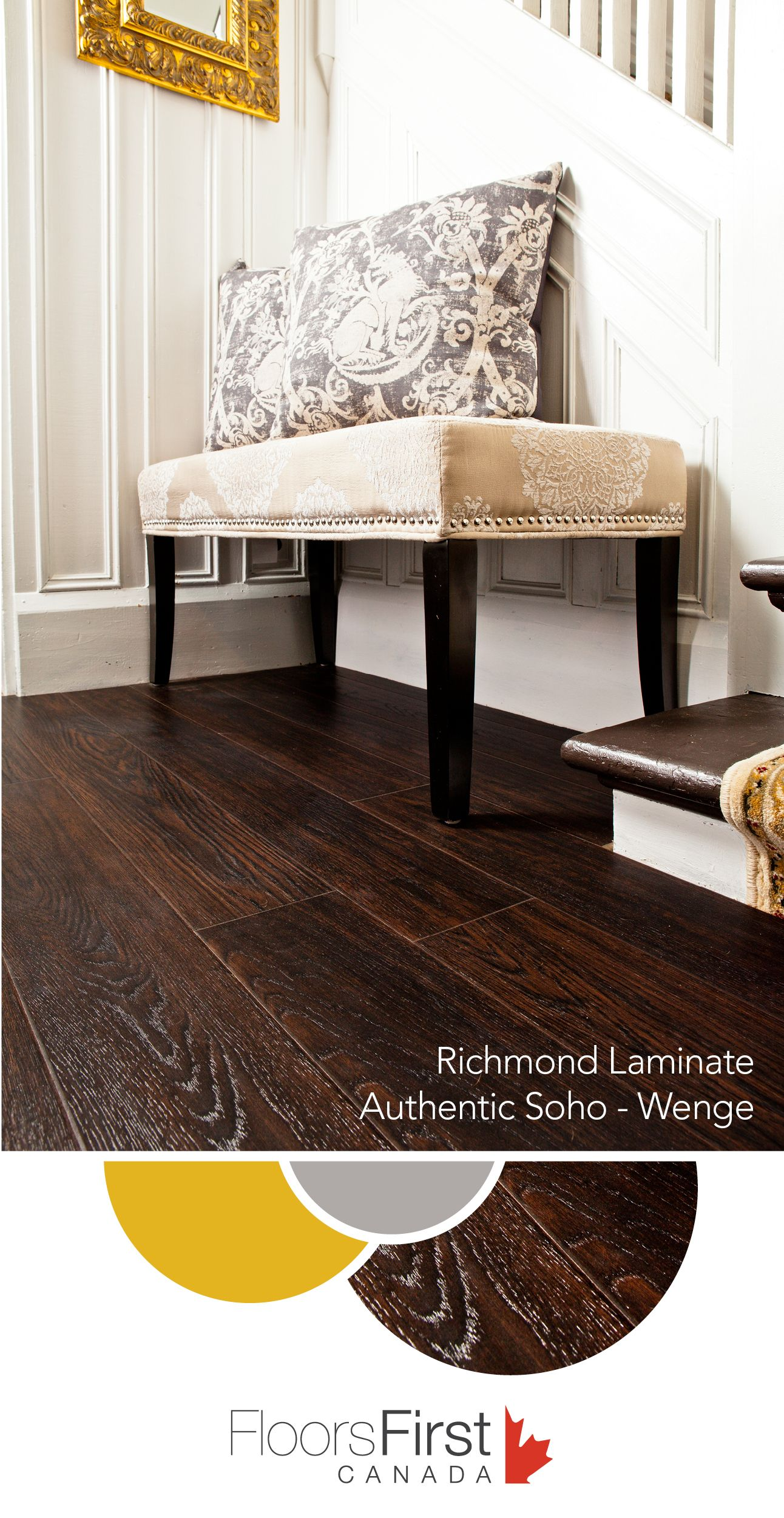 It's crazy how this Laminate floor looks so much like
