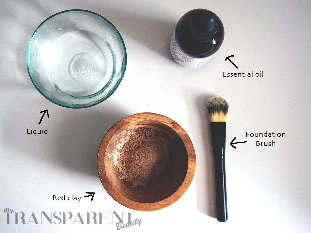 Detoxifying Red Clay Mask