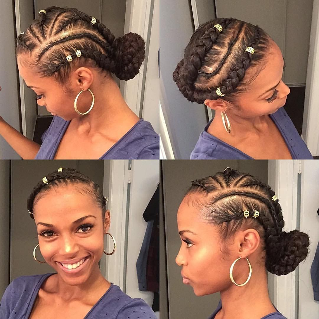 Hairstyles For Broad Shoulders: Natural Hair Styles, Goddess