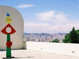 Joan Miro Foundation Barcelona   Spain - Barcelona Life