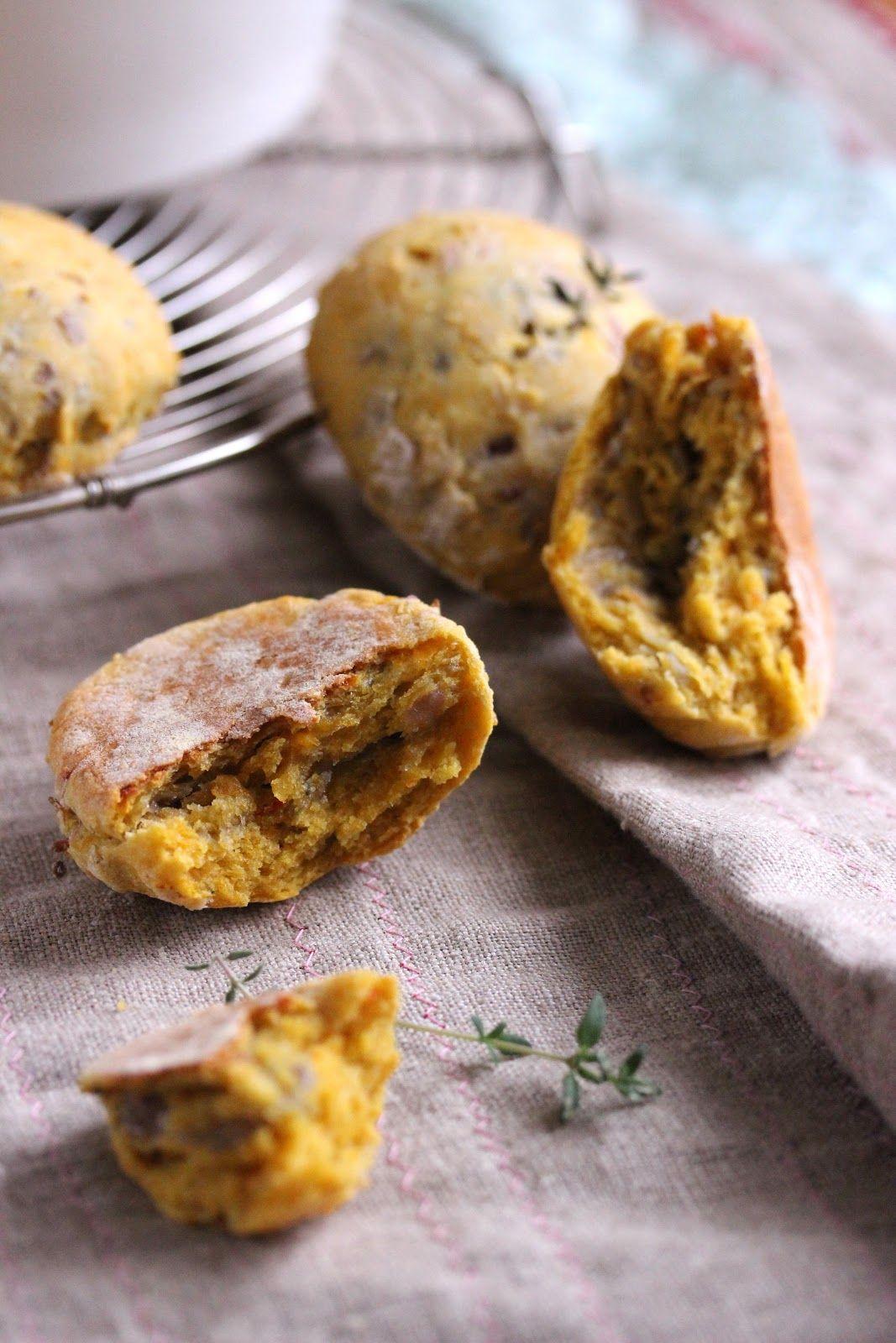 Dans la cuisine de Sophie: Scones au potiron et aux oignons caramélisés + légumes d'automne rôtis