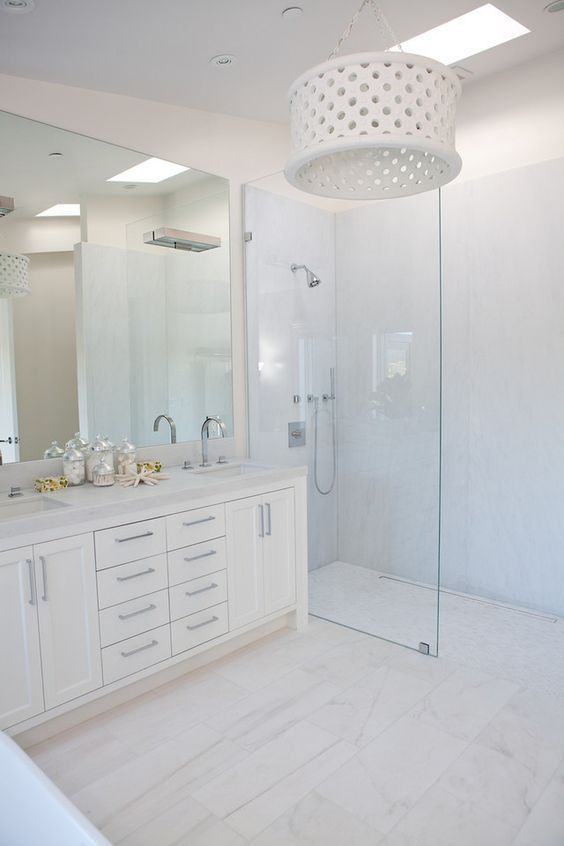 Small Bathroom Remodel White