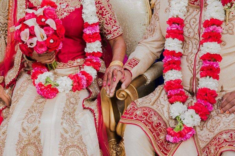 Flower Filled Contemporary Muslim Wedding San Mateo Ca Indian