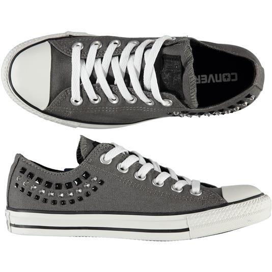 Sneakers Converse con borchie - € 85,00 fino al 31/08/2014 sono scontate del 32% e le paghi solo € 57,80 | Visita il nostro e-commerce www.nico.it