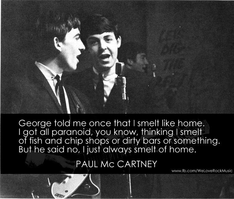 That is probably the sweetest thing ever. The beatles