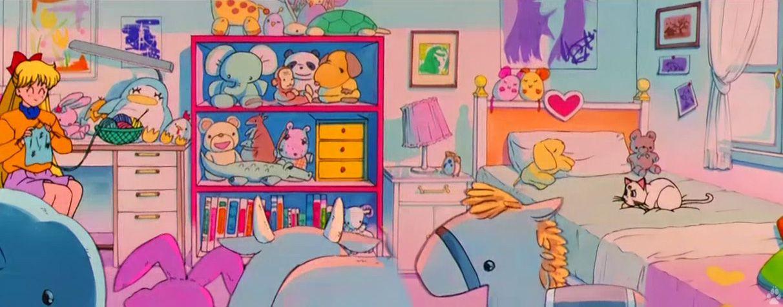 aino minako's room  sailor moon  pinterest  sailor moon
